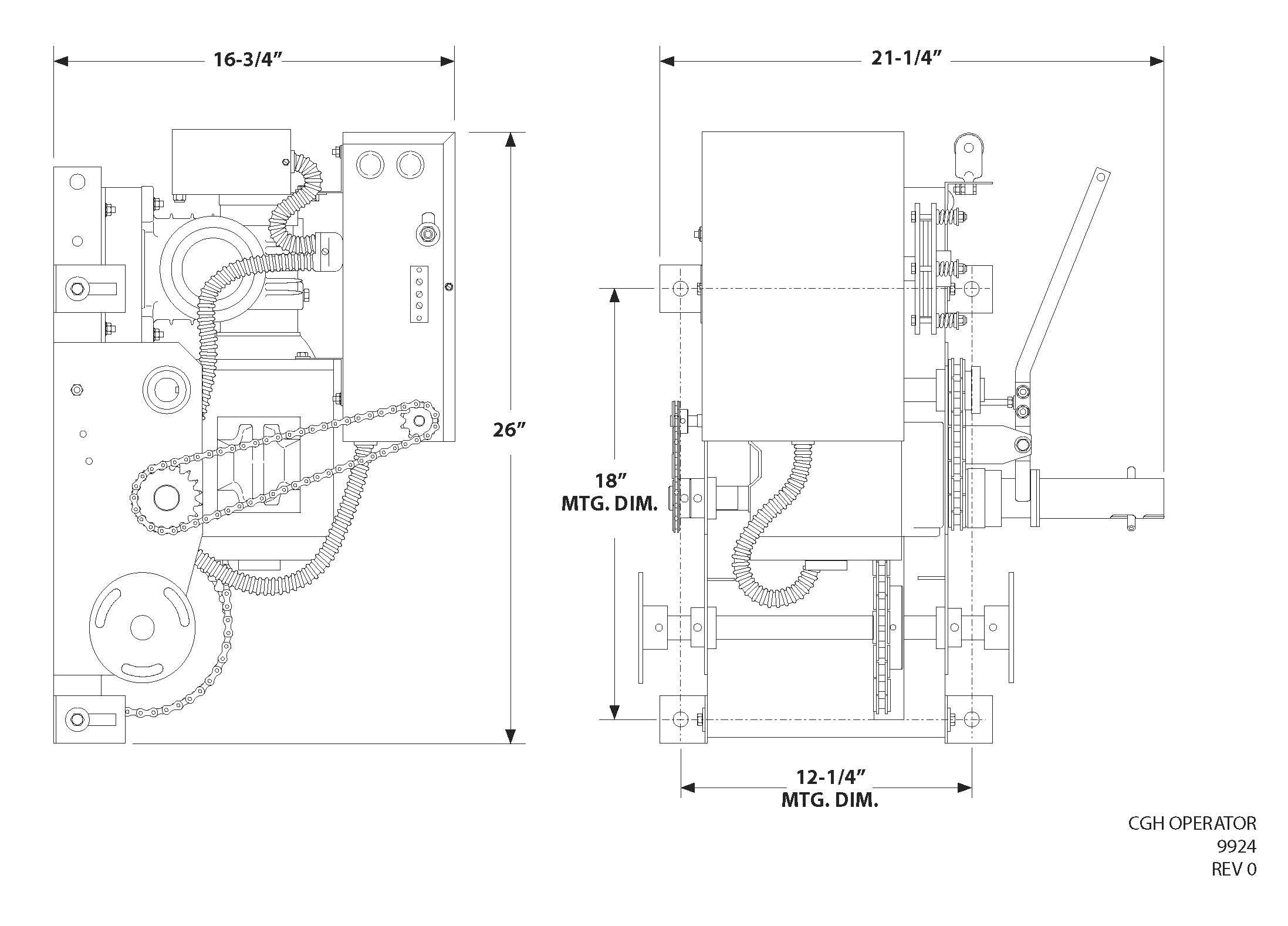 CGH Line Drawing
