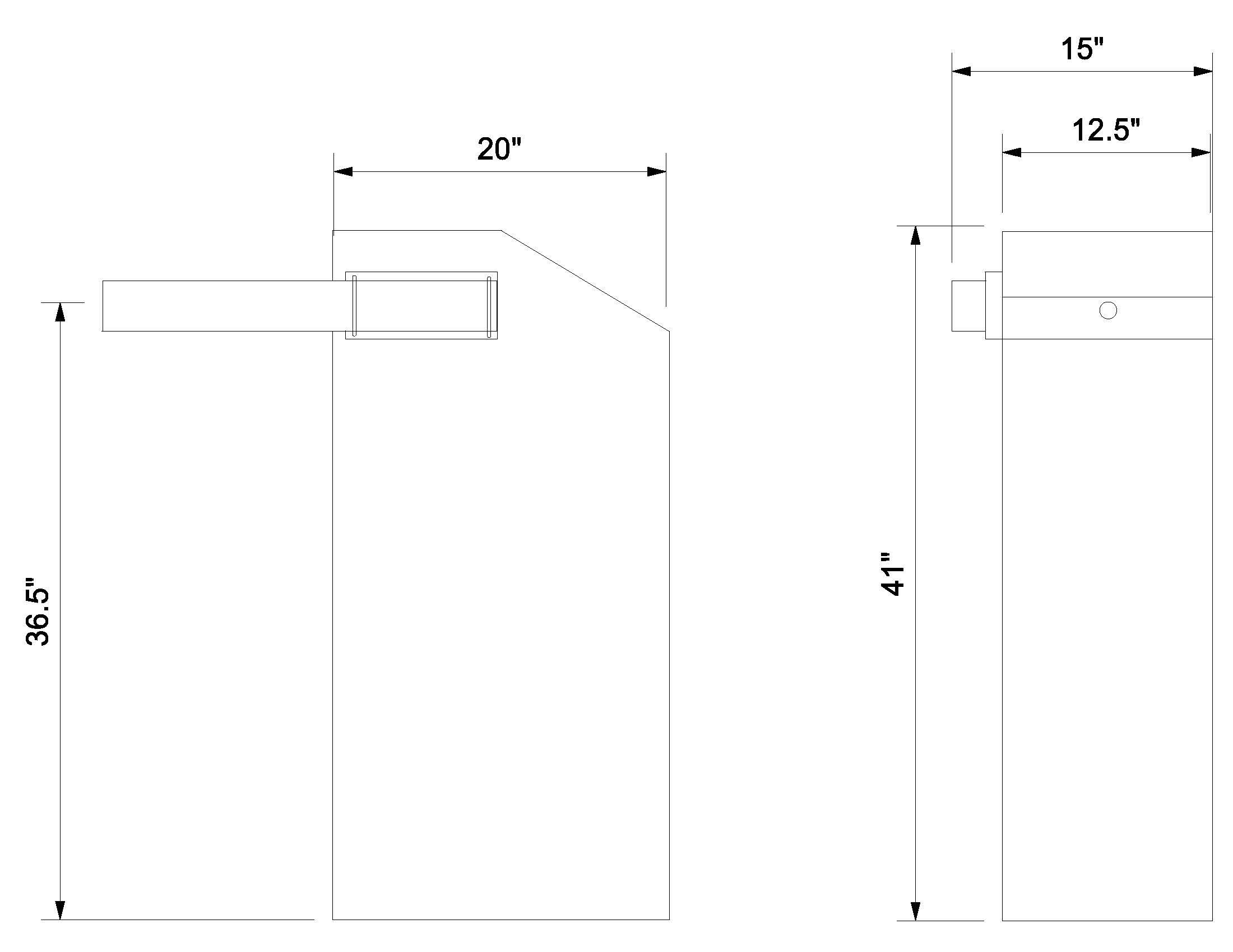 D-SBG Line Drawing
