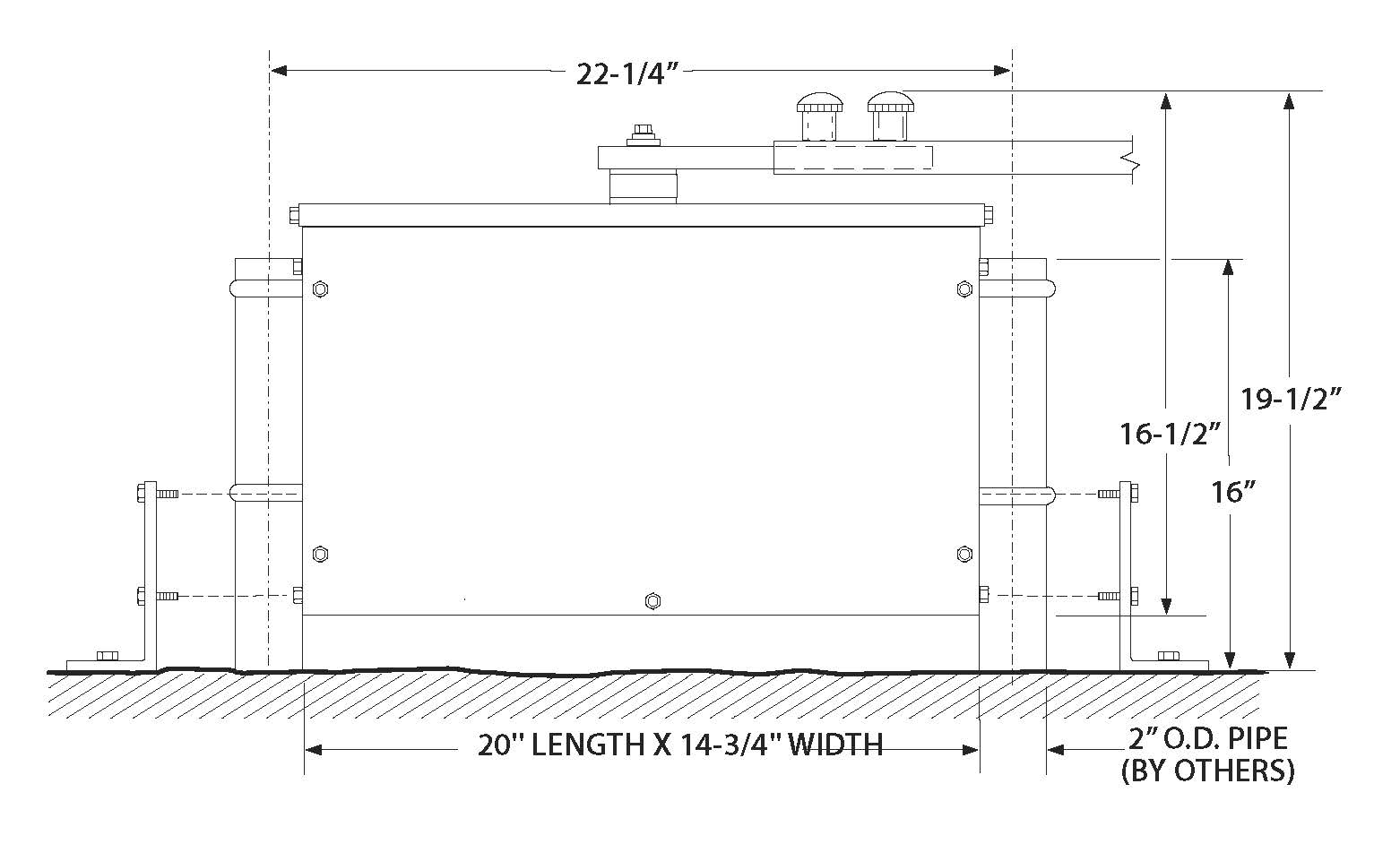 MSW Line Drawing